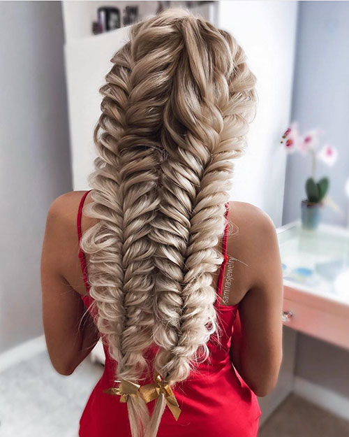 25 Best Prom Hairstyles for Long Hair in This Year - The Best Long .