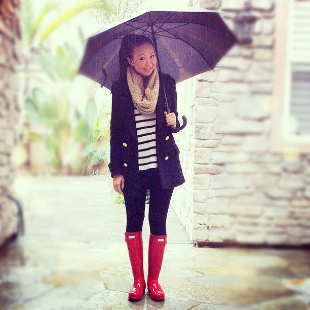 38 Best Rainy Day Boots Outfits to Take You Through the Downpour .