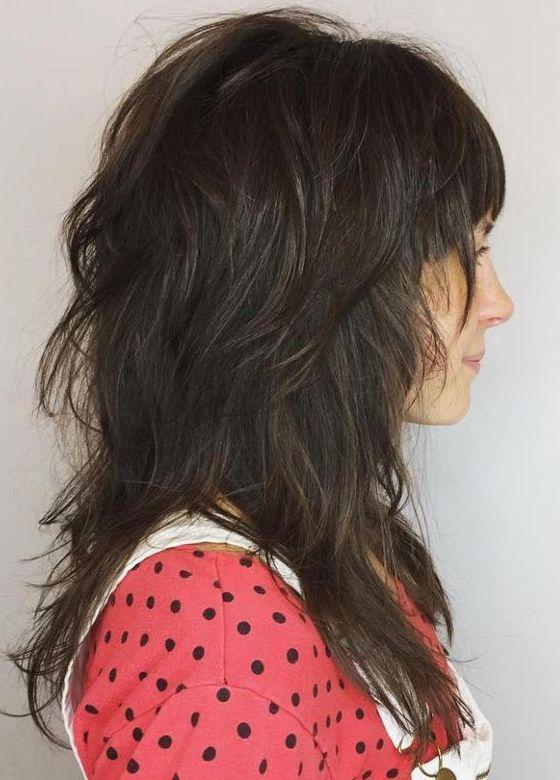 Account Suspended   Long shag haircut, Modern shag haircut, Long .