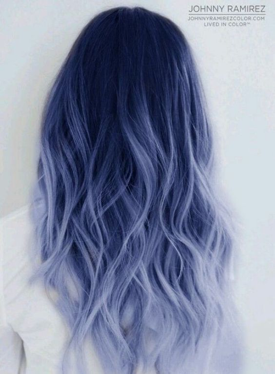 40 Gorgeous Pastel Blue Hairstyles You Have to Try – Page 26 .