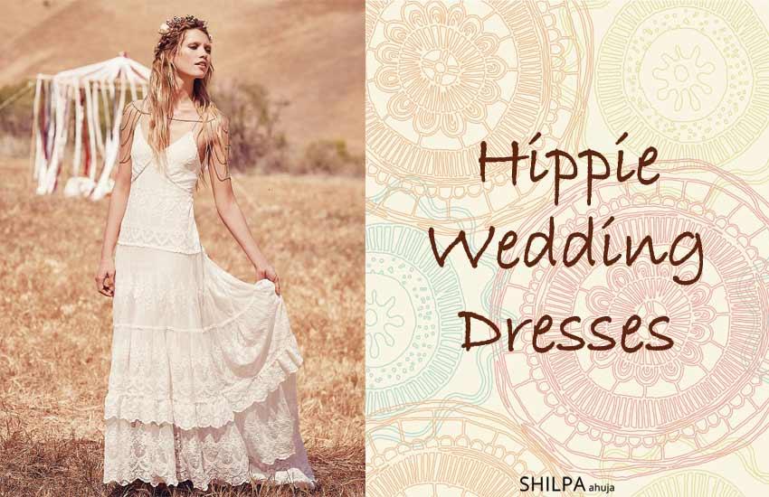 55 Hippie Wedding Dresses | Best Ideas for Bohemian Wedding Dre