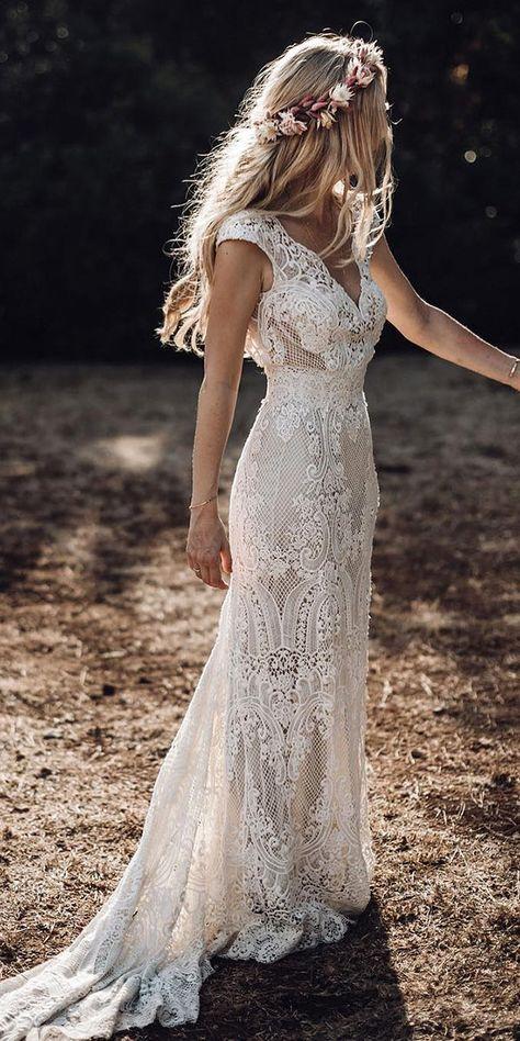 Bohemian Wedding Dress Ideas You Were Looking | Wedding Forward .