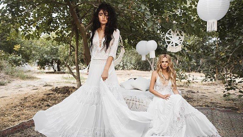 Bohemian Wedding Dresses for Whimsical Brides - The Trend Spott