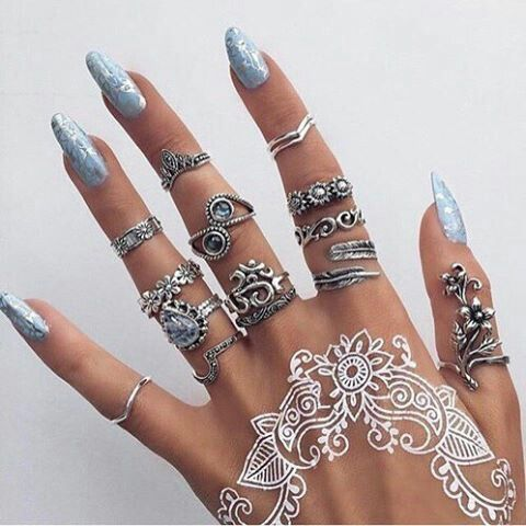 48 Absolutely Fantastic Boho Ring Set Designs to Adorn Your .