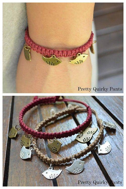 Pin by Sandy Carlson-Kaye on jewelry   Diy charm bracelet, Easy .