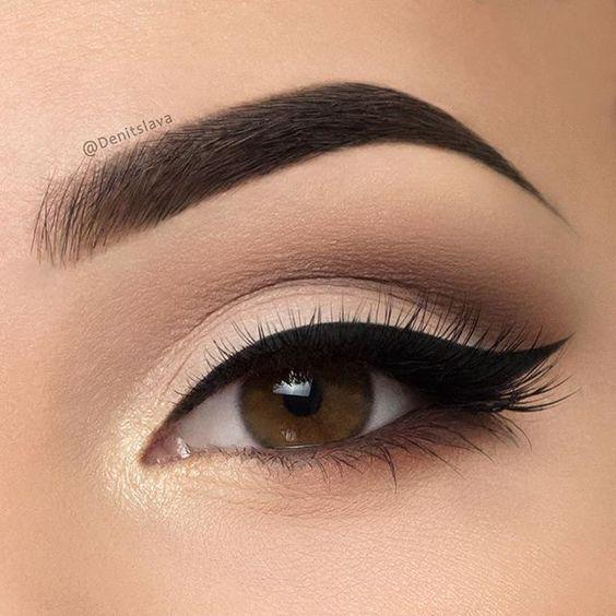 10 Amazing Makeup Looks for Brown Eyes | Smokey eye makeup .