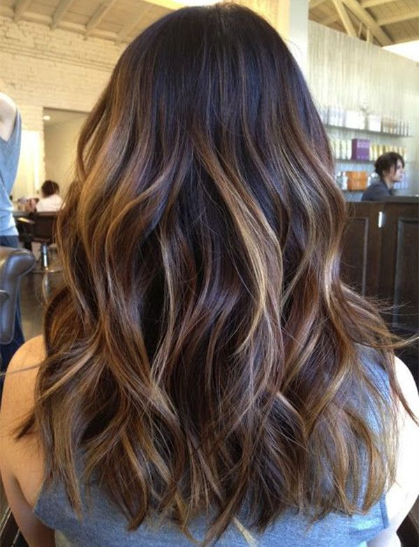 Top 20 Best Balayage Hairstyles for Natural Brown & Black Hair .