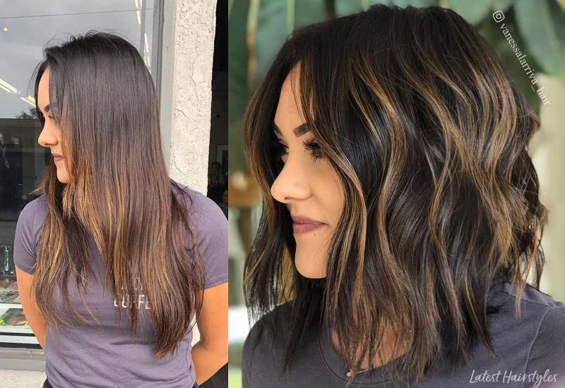 20 Popular Balayage Brown Hair Colors of 20
