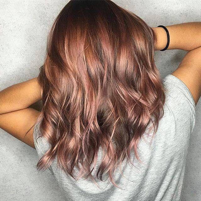Photos Of Rose-Brown Hair On Brunettes - Simplemost | Hair styles .