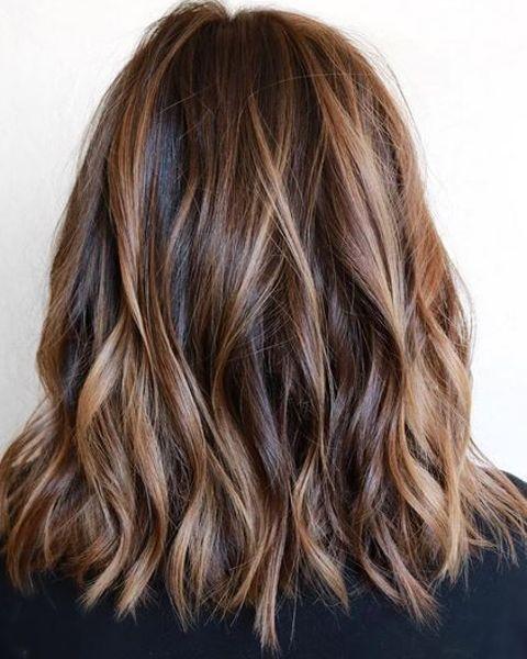 Light Roast Brunette Hair Color Ideas for 2017 | Medium hair .