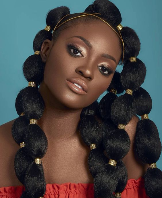 2020: Fulani bubble ponytail hairstyle trends globally   African .