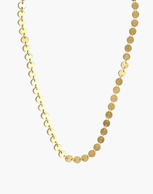 Madewell Disc Chain Necklace | Accessories diy jewelry, Chain .