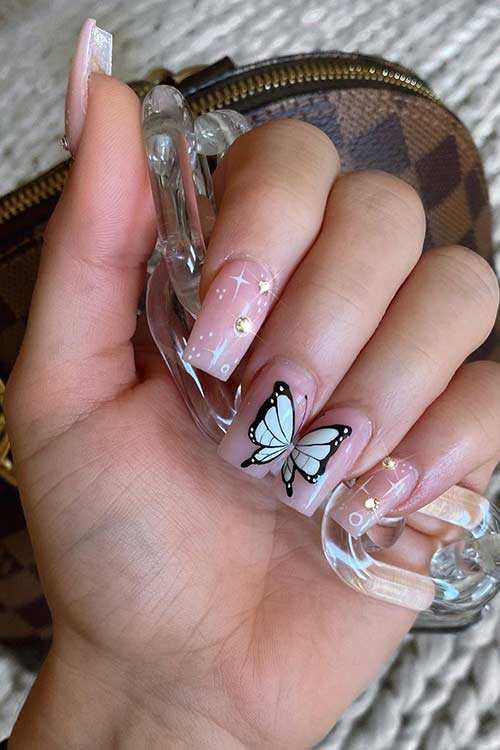 23 Ways to Wear Trendy Butterfly Nails This Spring | Page 2 of 2 .