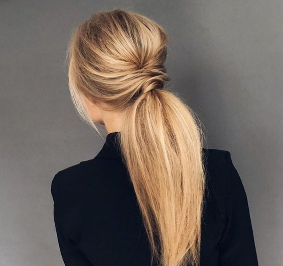 Long and Beautiful Ponytail Hairstyle for Women - Page 18 of 20 .