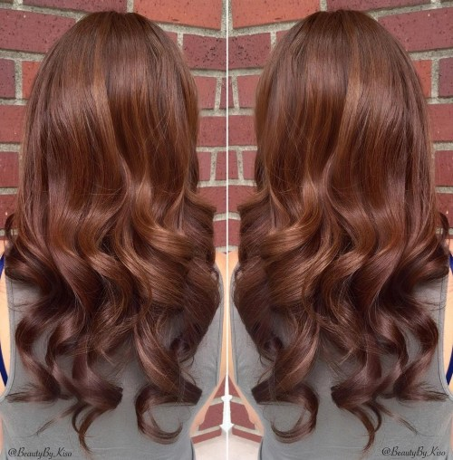 40 Unique Ways to Make Your Chestnut Brown Hair P