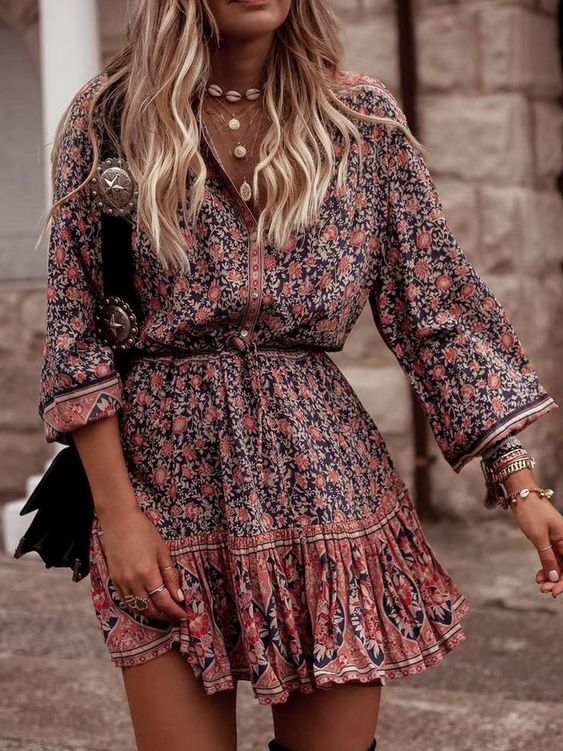 60+ Chic Boho Spring Outfits to Up Your Style Ga
