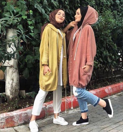 Oversized sweater dress hijab style | Hijab fashion, Hijabi .