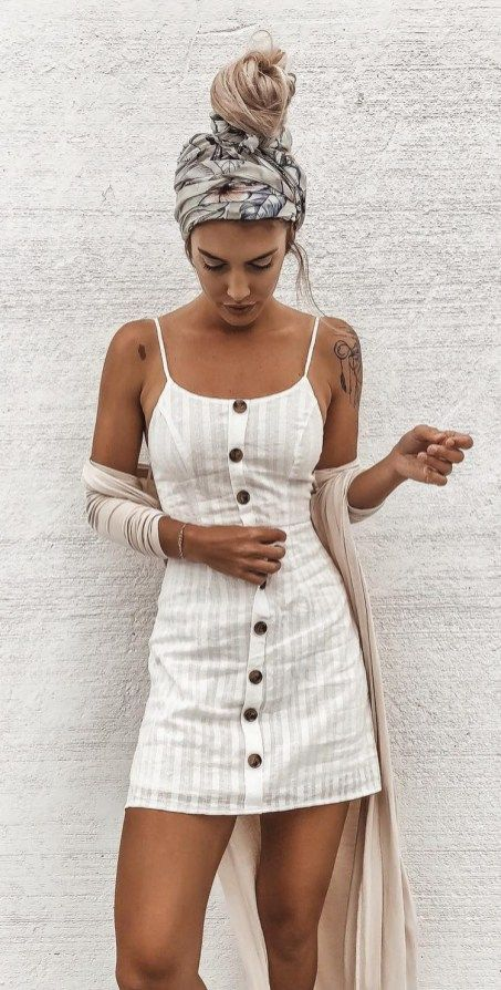 Chic Outfit Ideas 23 | Linen summer outfits, Trendy summer outfits .
