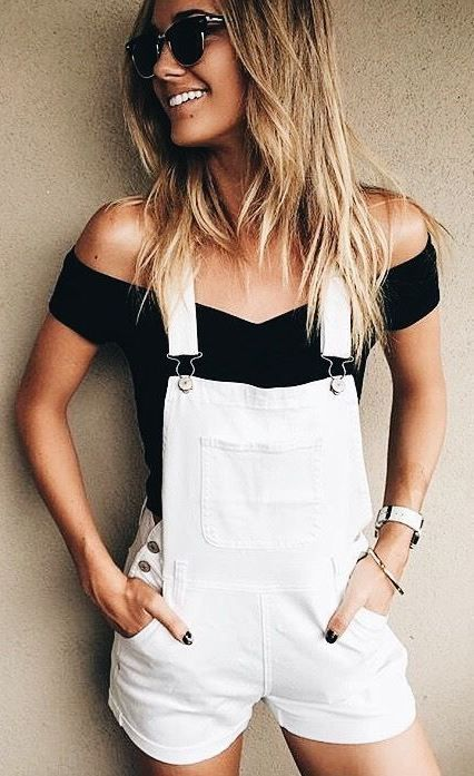 HOW TO WEAR OVERALL JEANS CASUAL AND CHIC   Fashion, Clothes, Cute .