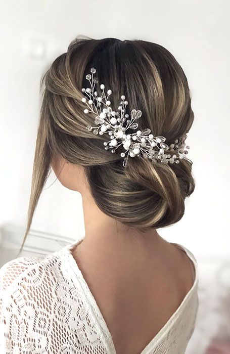30 Chic Bridal Hairstyles for Your Special Day - The Trend Spotter .