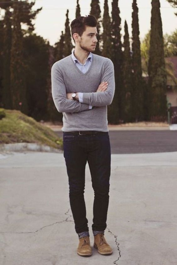 Winter Date Men Outfits - thelatestfashiontrends.com | Stylish men .