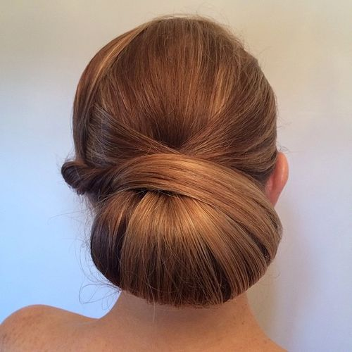 40 Chic Chignon Buns That Bring the Class into Formal and Casual Loo