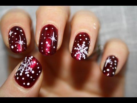 8 Fabulous Christmas Nail Art Tutorials | Marc and Mandy Sh