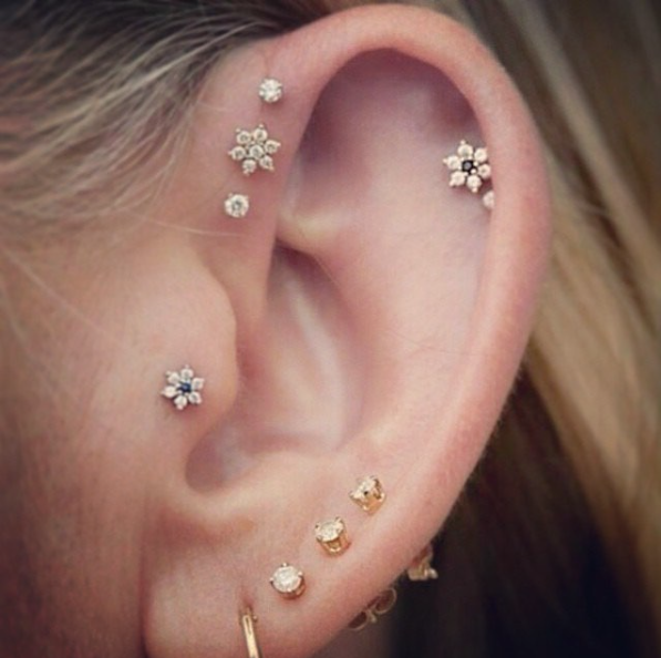 People Are Getting Constellation Piercings And The Results Are .