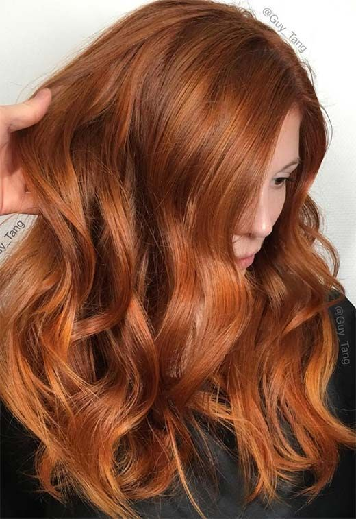 57 Flaming Copper Hair Color Ideas for Every Skin Tone | Natural .