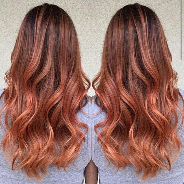 89 Trendy and Beautiful Copper Hair Color Ide