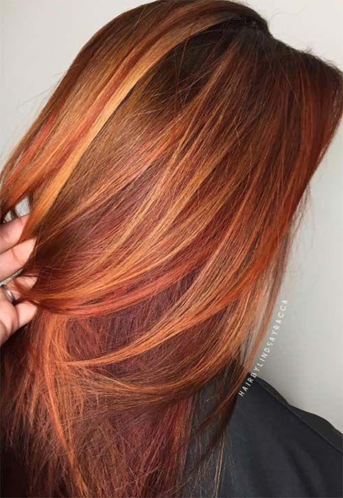Copper Hair Color Ideas | Warm hair color, Hair color shades .