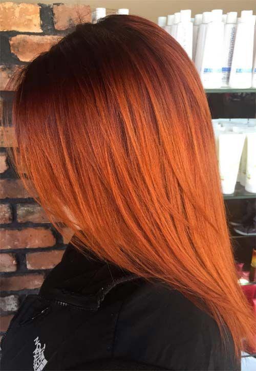Copper Hair Color Ideas | Hair color orange, Hair shades, Copper .