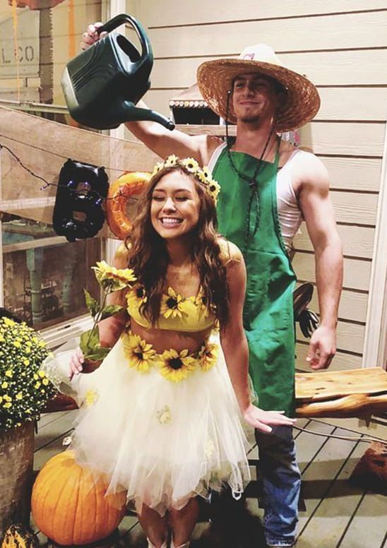 14 Affordable & Cute DIY Halloween Costumes for Couples   Ecemella .