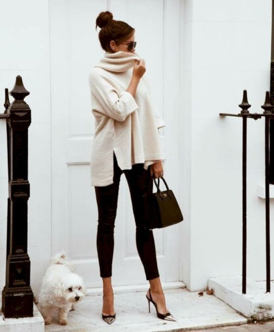 31 Cosy Office & Work Outfits Ideas for Women When It's Cold .