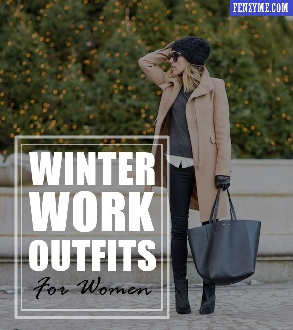 45 Cozy Winter Work Outfits for Women in 2015 | Work outfits women .
