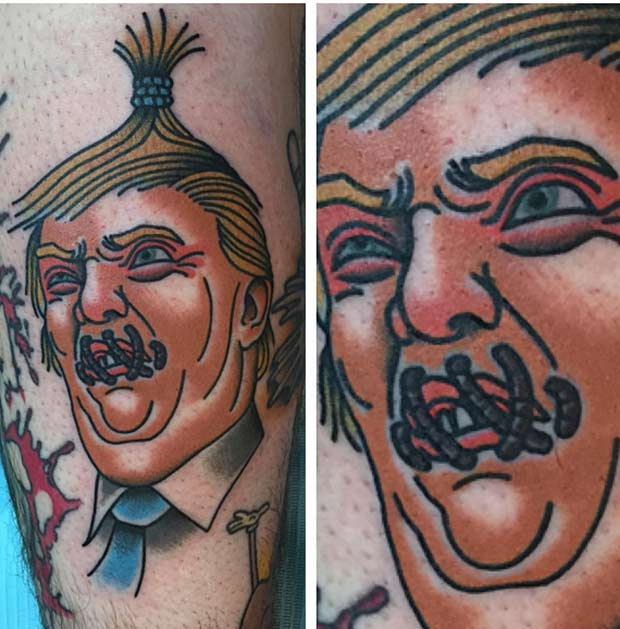 Donald Trump Tattoos: The Good, The Bad, and Insane   Team Jimmy J