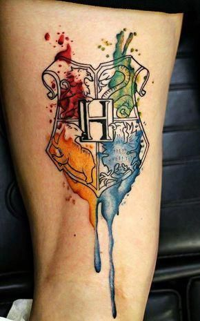 50 Insanely Crazy Harry Potter Tattoos That Are Truly Inspiring .