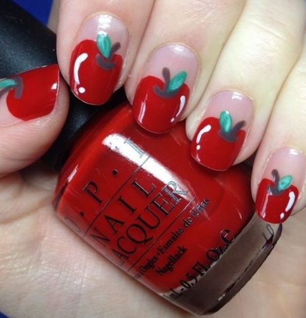 30 Food Inspired Nail Art That Will Make You Hungry - Feminine .