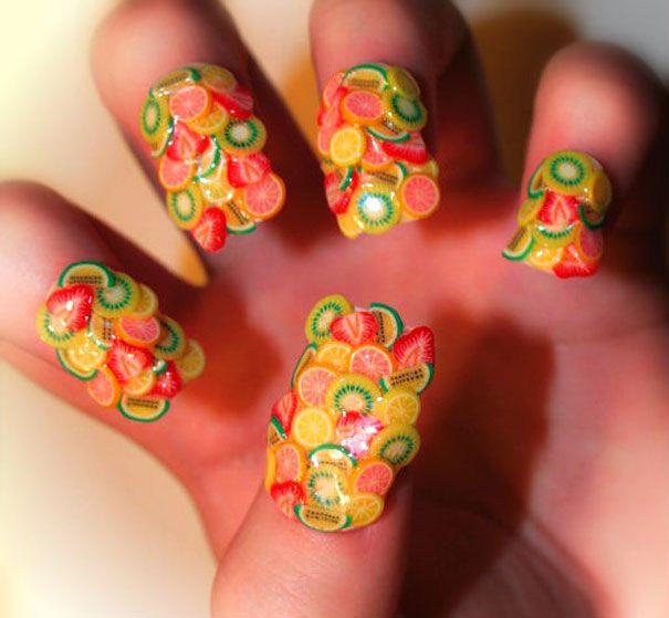 Creative Nail Art by Kayleigh O'Connor | Crazy nail designs, Crazy .