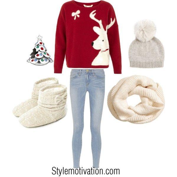 20 Cute Christmas Outfit Ideas   Cute christmas outfits, Christmas .
