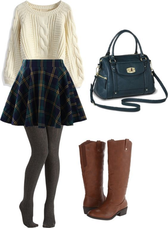 19 REALLY Cute Outfit Ideas for Winter 2020: Winter Outfit Ideas .