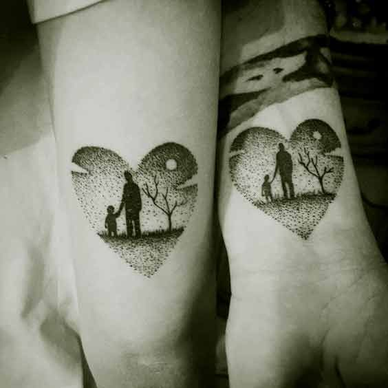 50 Best Father Tattoos Designs And Ideas To Dedicate To Your Dad .