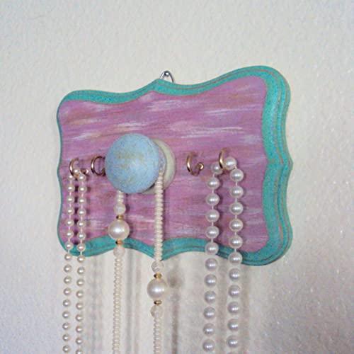 Amazon.com: Handpainted Jewelry Display - Shabby Boho Chic .
