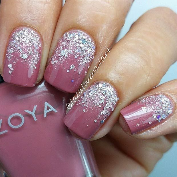 50 Best Nail Art Designs from Instagram   StayGlam   Silver .