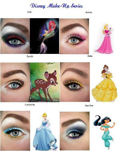 MissBeautyAddict !: Disney Make-Up Series   Disney inspired makeup .