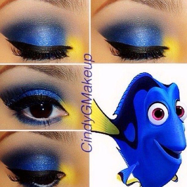 Amazing Disney Inspired Makeup   Disney eye makeup, Disney .