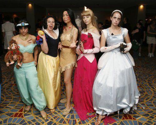 zombie/undead disney princess? | Disney princess zombie, Unique .