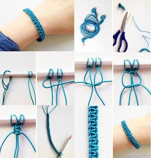 Amazing Braided Bracelet - DIY - AllDayCh