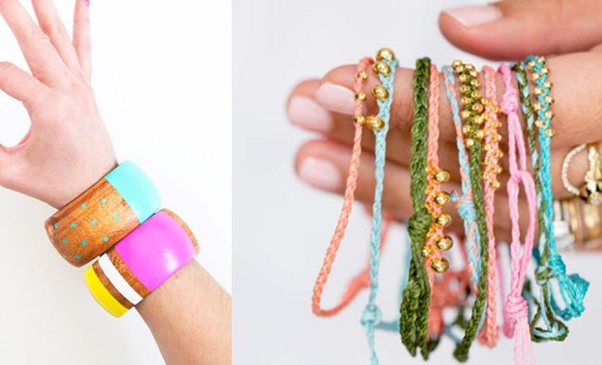 47 DIY Bracelets You Could Be Wearing By Tomorrow - DIY Projects .