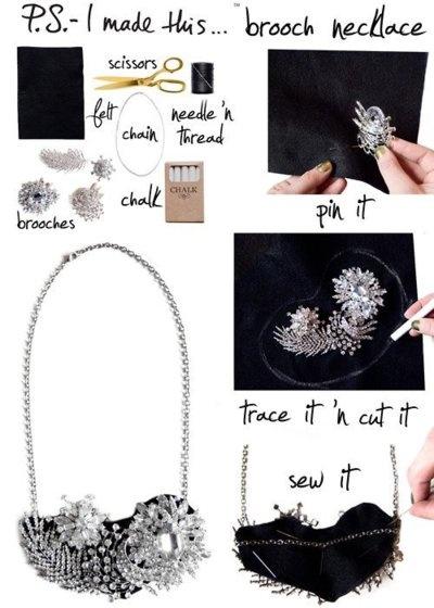 25 Gorgeous DIY Necklaces Tutoria